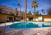 Mid Century Rental Central Palm Springs