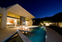 Metropolitan vacation rental home by Oasis Rentals property management in Palm Springs