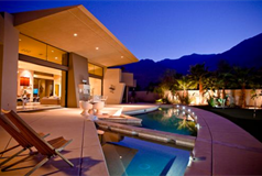 Metropolitan luxury rental at Alta palm springs