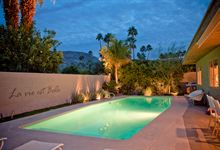 Caliente House Luxury Vacation Rental house in palm springs by Oasis Rentals